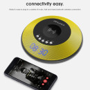 Awei Y290 Super Bass Portable Bluetooth Speaker with Wireless Charger – Black and Yellow