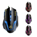A9 Gaming Mouse Adjustable 3200DPI 6 Buttons Program Optical Game Mice