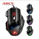 iMICE X7 Wired Gaming Mouse 7 Buttons Optical 5000DPI Professional Mouse Gamer Computer Mice For PC Laptop
